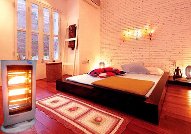 Nên chọn máy sưởi phòng ngủ nào vào mùa đông?