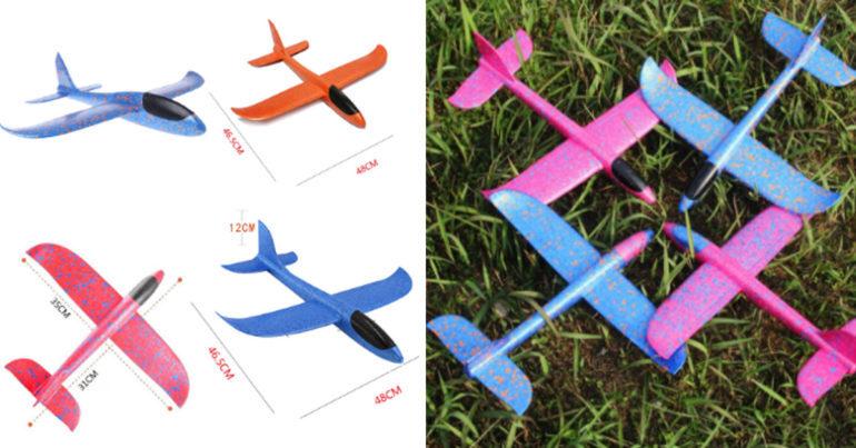 Máy bay xốp là gì ? Máy bay xốp có mấy loại ? Giá máy bay xốp bao nhiêu ?