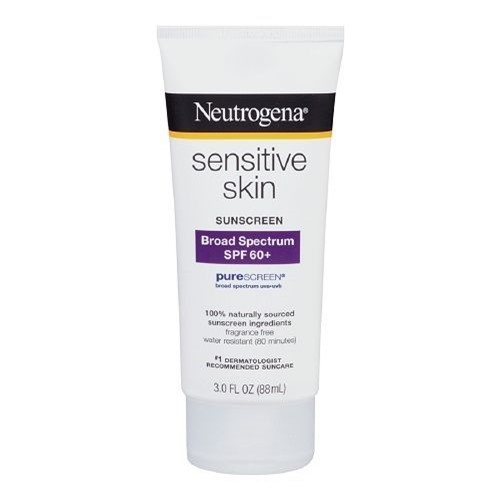 Neutrogena Sensitive Skin Sunscreen Lotion SPF 60