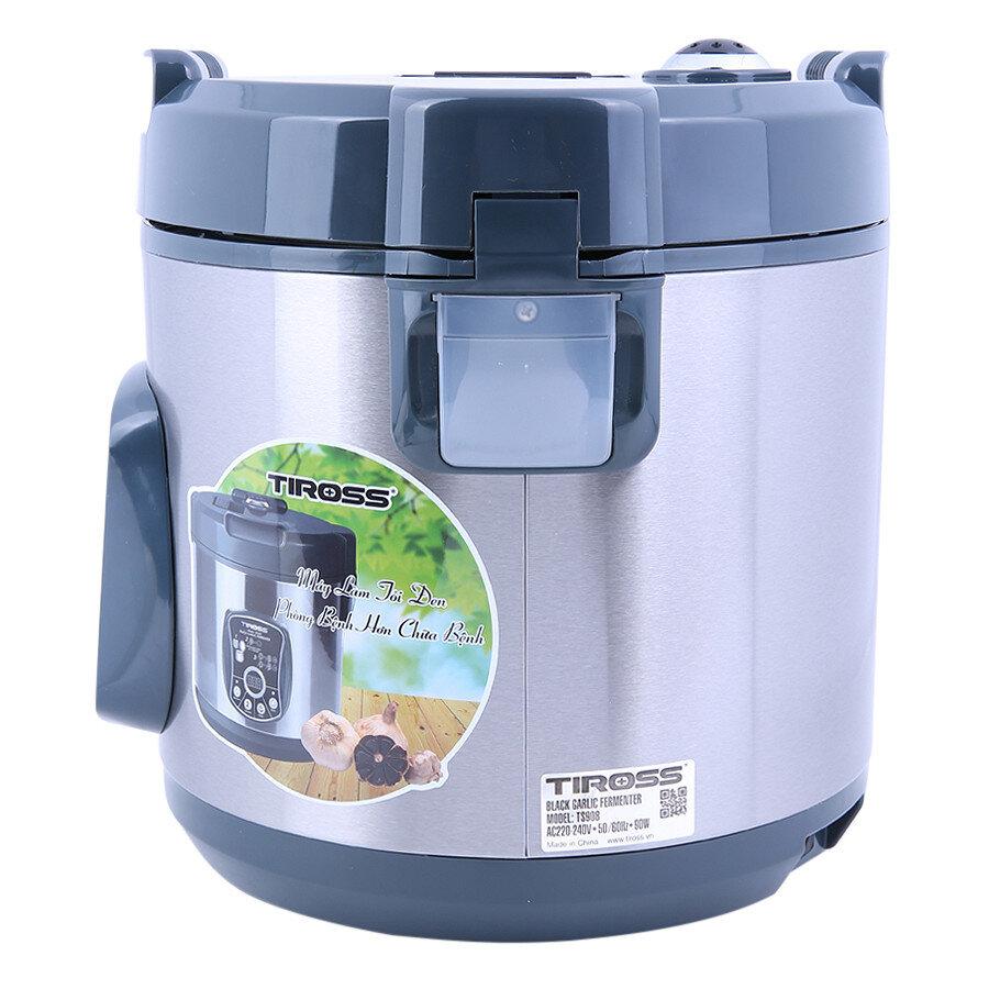 Thiết kế, chất liệu là một trong những tiêu chí dùng để đánh giá máy làm tỏi đen Tiross 908 chất lượng