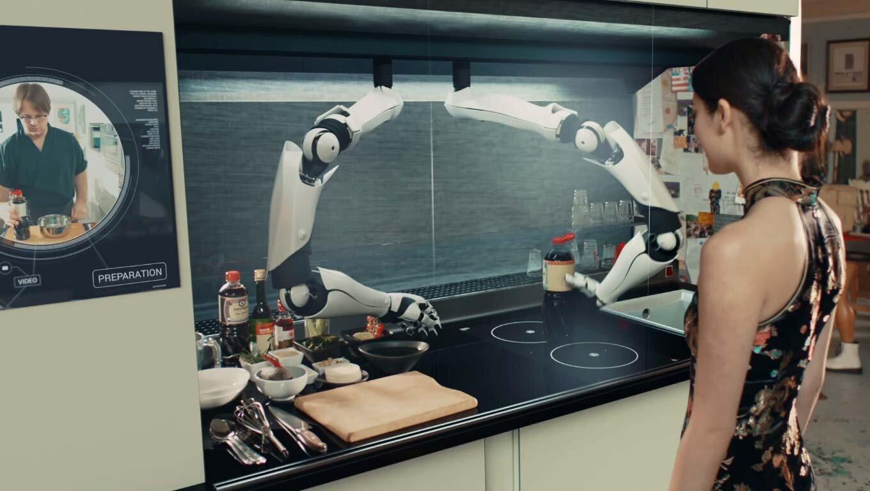 Robot Moley trở thành cánh tay đắc lực cho các bà nội trợ