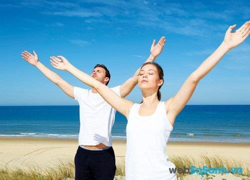 Cảm nhận cơ thể khi tập sẽ giúp tránh việc tập quá sức