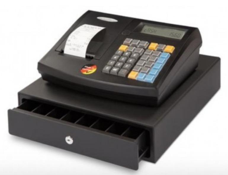 Máy tính tiền cửa hàng tạp hóa QMP -50 có ưu điểm về thiết kế