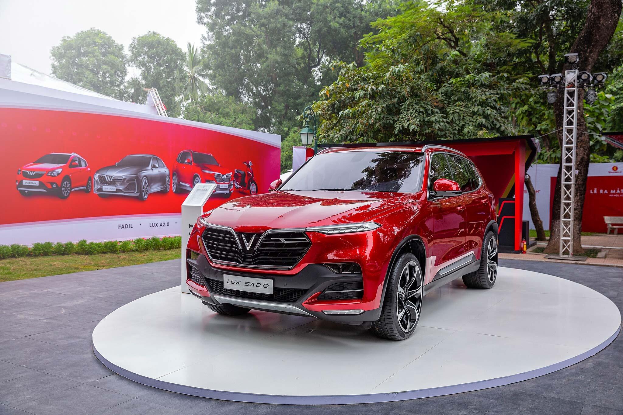 SUV SA2.0 VinFast sở hữu thiết kế trẻ trung, thể thao và năng động