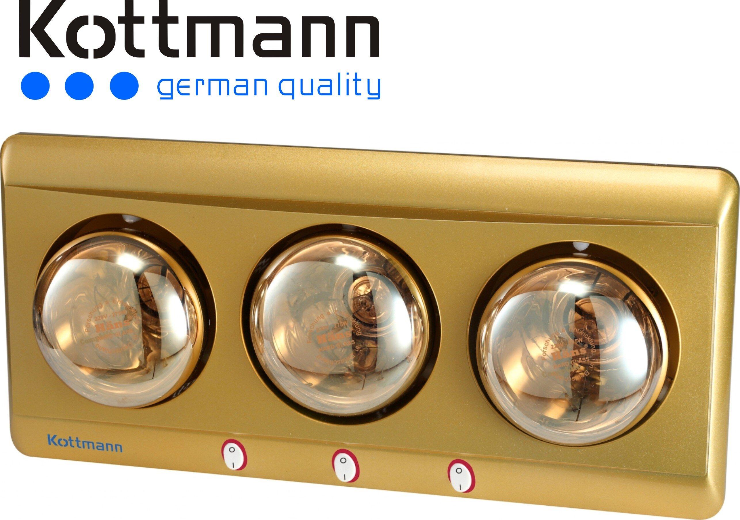 Đèn sưởi nhà tắm Kottmann K3B-H