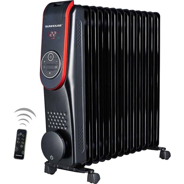 Đứng thứ 2 máy sưởi tiết kiệm điện là máy sưởi dầu Sunhouse