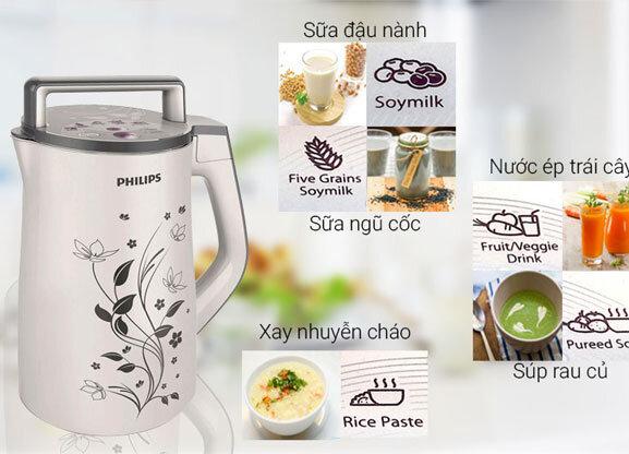 Máy làm sữa hạt Philips - Giá tham khảo: 1,6 - 2,5 triệu vnđ