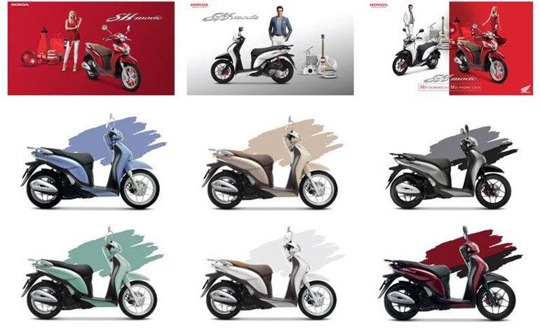 xe máy honda sh mode 2019