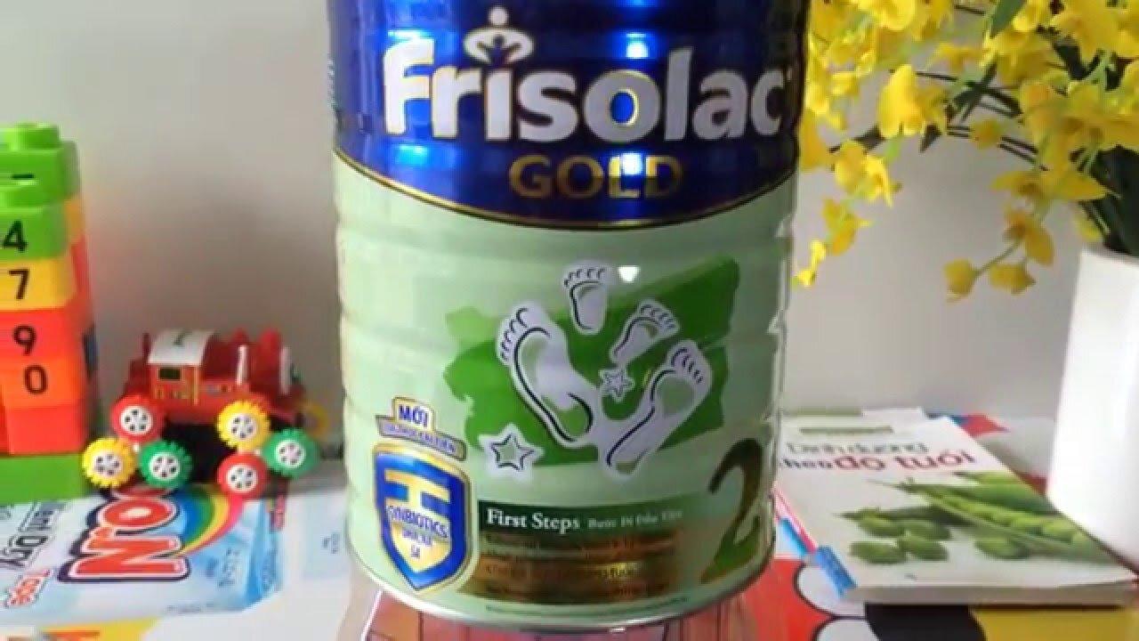Sữa Friso Gold có tăng cân không