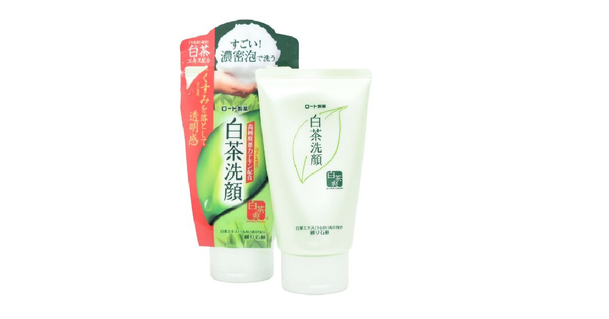 Sữa rửa mặt Nhật Shirochasou Green Tea Foam - Giá tham khảo khoảng 88.000 vnđ - 145.000 vnđ/ tuýp 120g
