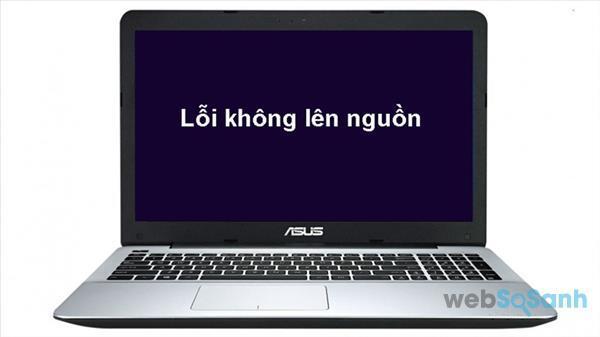 laptop không lên nguồn