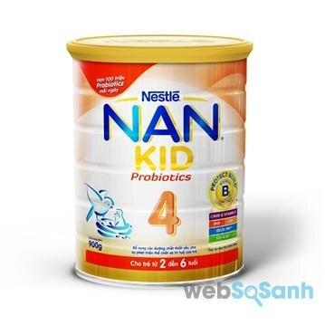 Sữa bột tăng cân cho bé Nan Kid 4