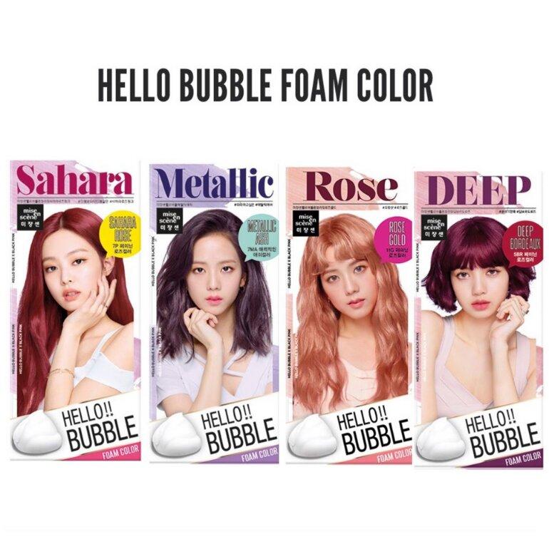Thuốc nhuộm tóc Blackpink Mise En Scene Hello Bubble