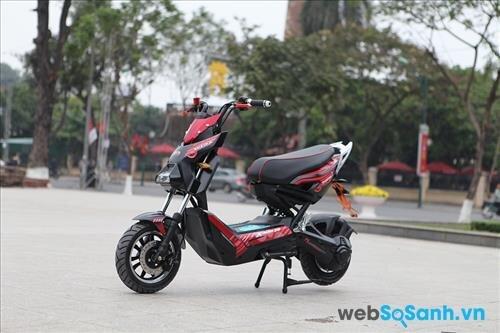 Mức giá 14,500,000 đồng của xe máy điện Xman Plus Suzika được đánh giá là khá rẻ so với những gì mà dòng xe máy này mang lại cho người tiêu dùng