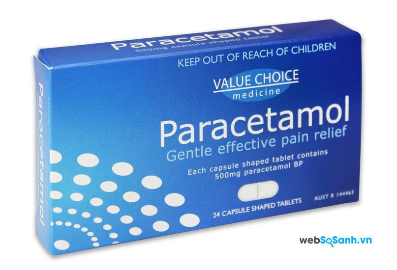 Bị sốt khi thủy đậu các mẹ có thể sử dụng thuốc paracetamol