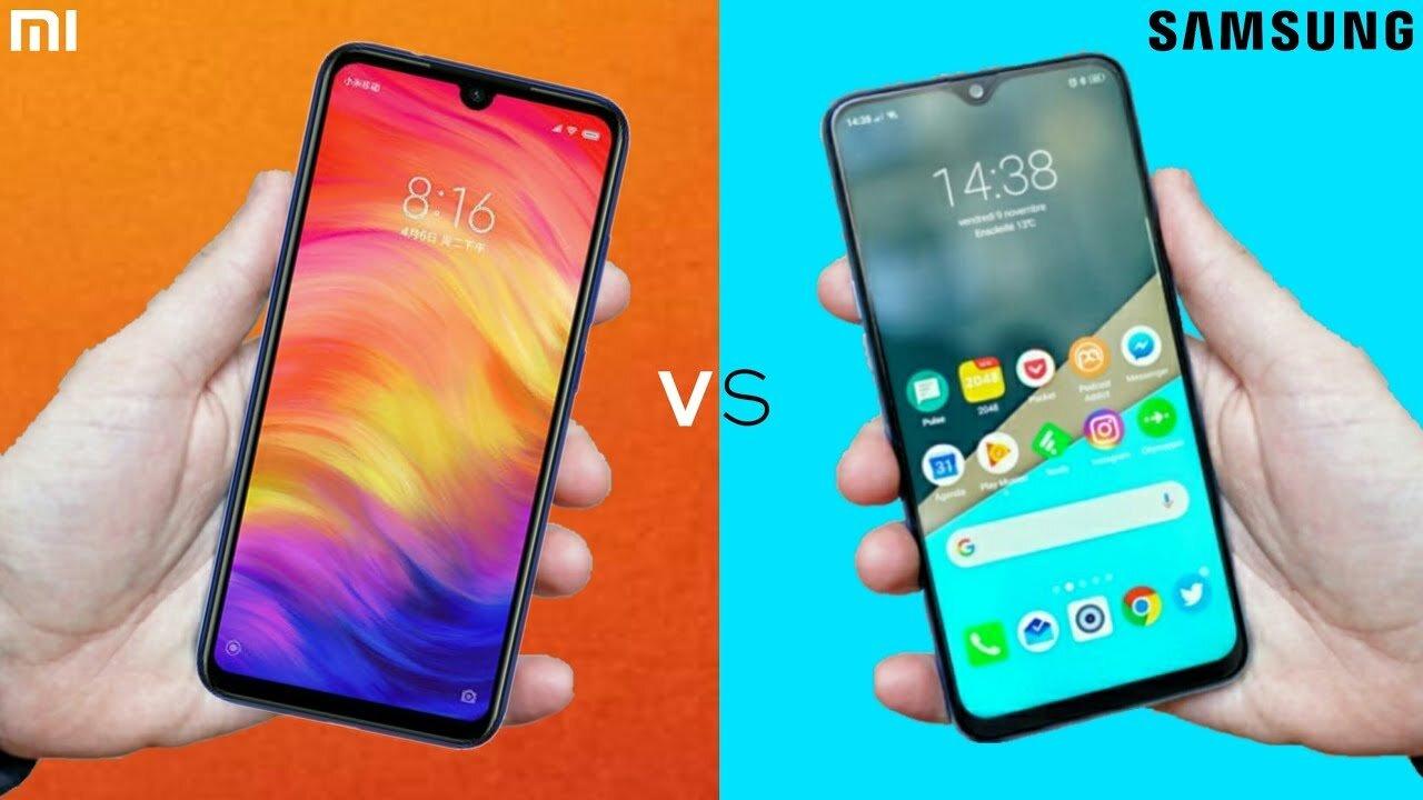 So sánh Samsung Galaxy M20 và Xiaomi Redmi Note 6