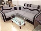 Sofa Góc Nỉ pha Da cá tính giá Buôn GHS-809