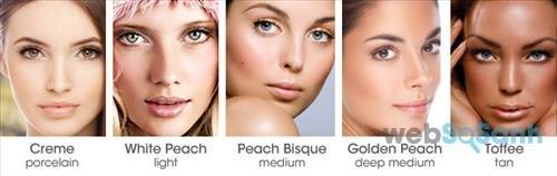 Xác định tông da là bước đầu tiên giúp bạn chọn được kem nền phù hợp