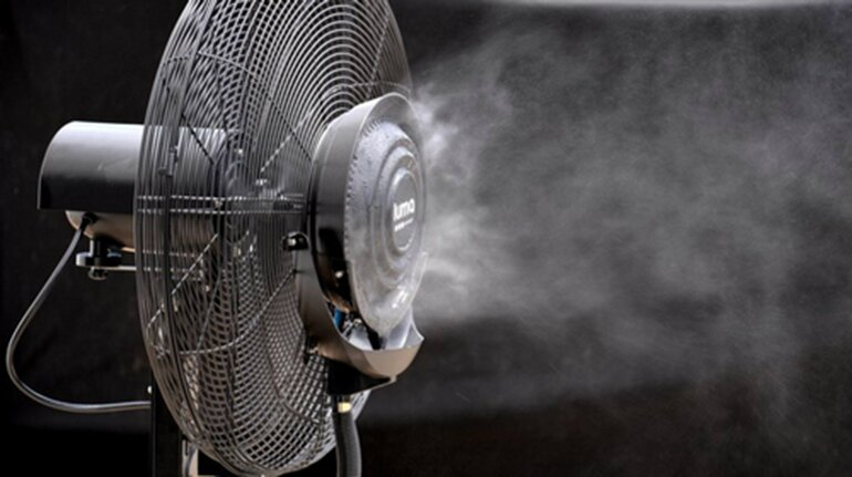 quạt phun sương công nghiệp