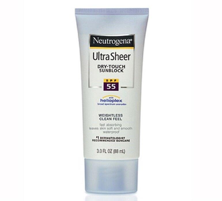 Kem chống nắng Neutrogena Ultra Sheer Dry Touch Sunscreen Broad Spectrum
