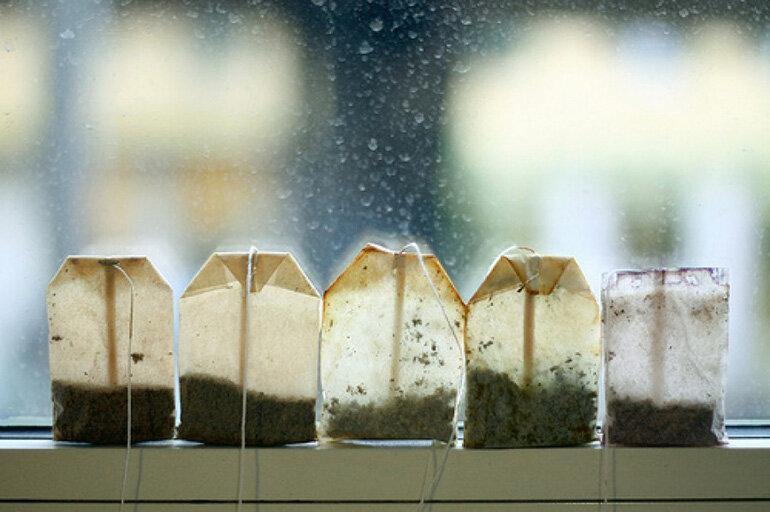 Khử sạch mùi lò nướng hiệu quả bằng trà túi lọc