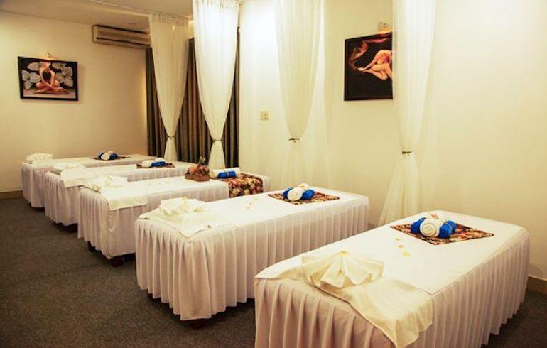 Những mẫu ga trải giường Spa để tạo ấn tượng cho khách hàng