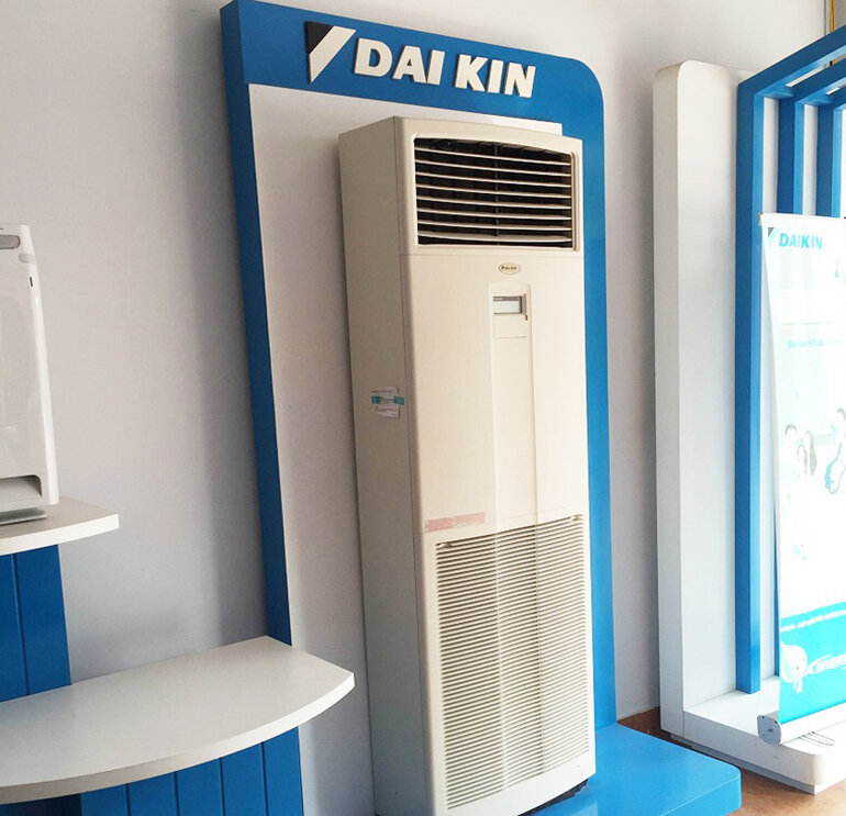 Điều hòa cây Daikin khả năng làm lạnh khá nhanh