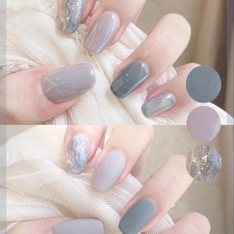 sơn móng tay kiểu Hàn Quốc
