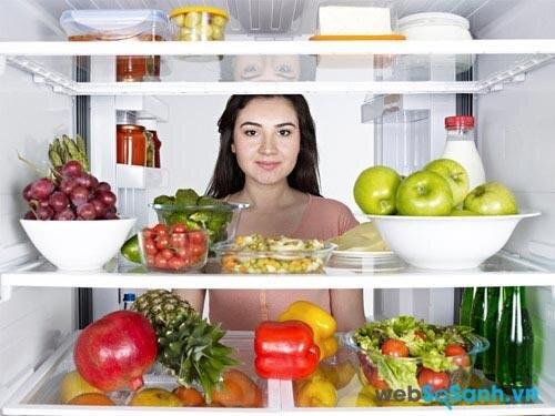 Tủ lạnh nên được duy trì từ 1 đến 4 độ C (nguồn: internet)