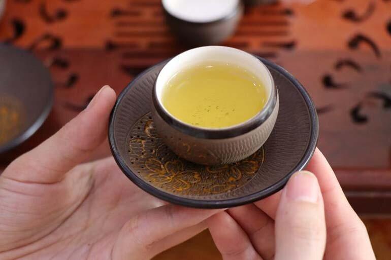 trà tân cương thái nguyên hữu cơ