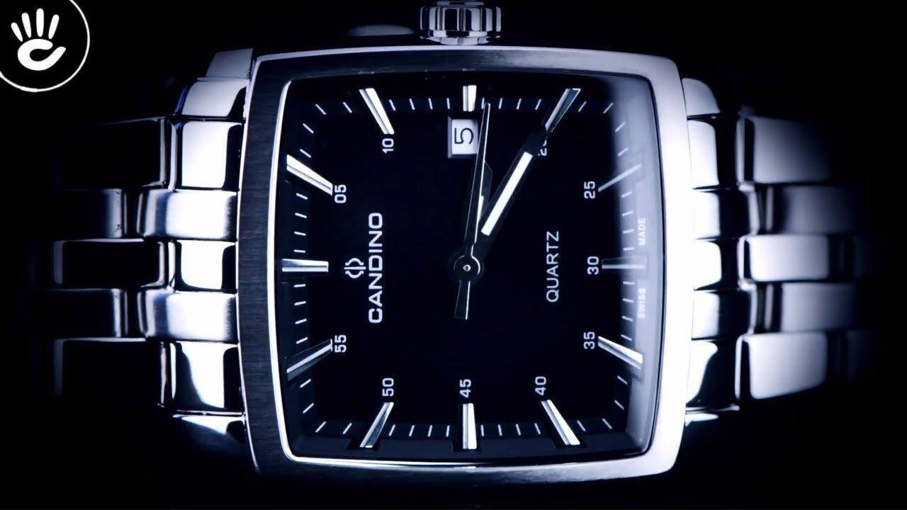 Đồng hồ kim nam C4372/I Candino sắc xám đầy mạnh mẽ, quyền lực