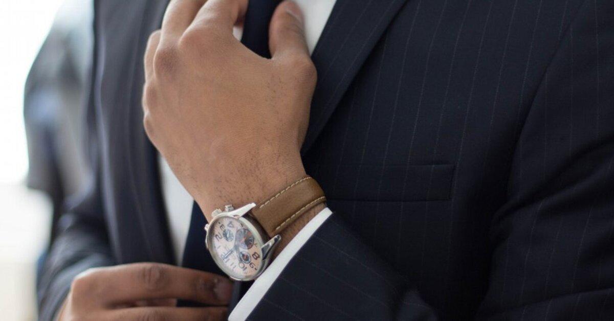 đồng hồ nam dây da đẹp