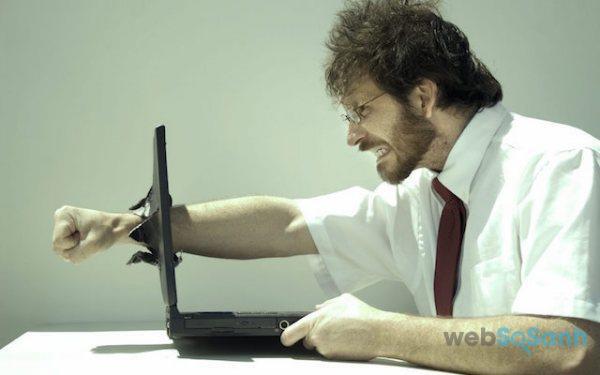 Laptop tắt đột ngột