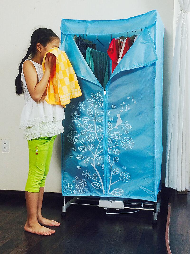 Tủ sấy đồ giúp cho quần áo thơm tho