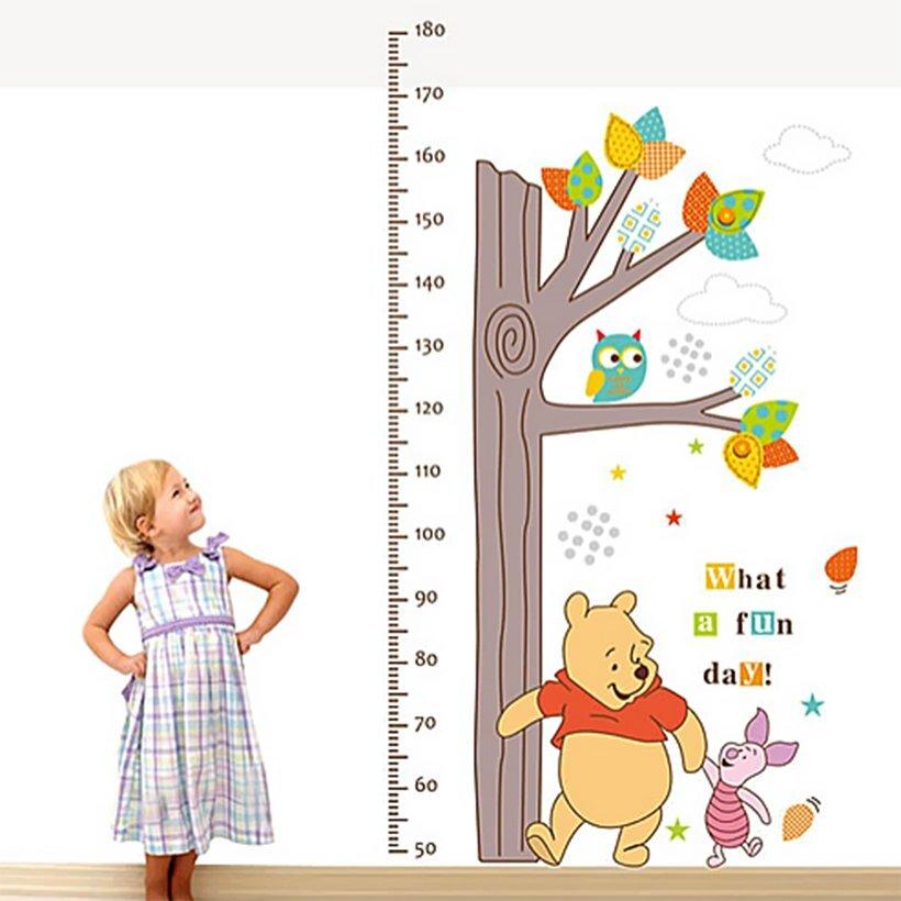 Bé yêu sẽ thấy sao khi chú gấu Pooh đáng yêu xuất hiện mỗi ngày trong căn phòng của mình nhỉ?