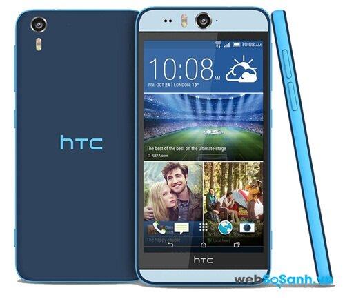HTC Desire Eye sở hữu màn hình 5.2inch độ phân giải cao