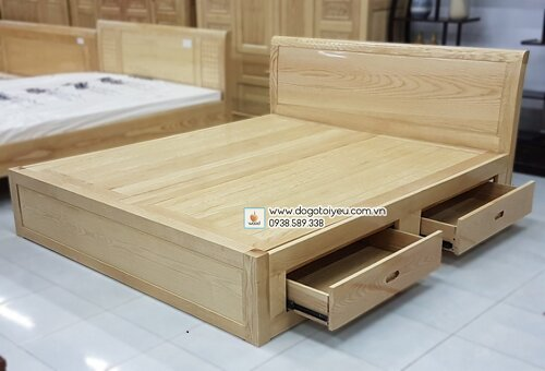 giường ngủ gỗ thông minh