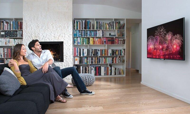 Thiết kế đẹp mắt của TV Led HD Panasonic luôn chiếm được cảm tình của người dùng