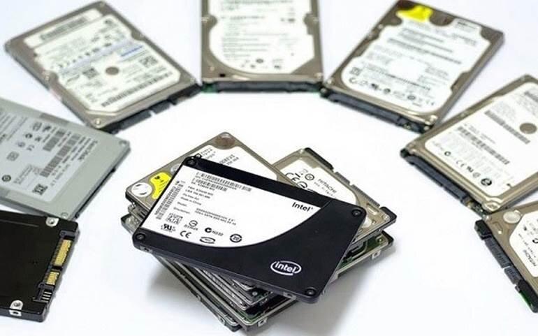 nâng cấp ổ cứng SSD