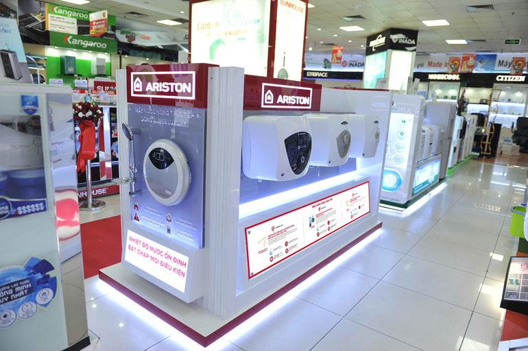 Bình nóng lạnh Ariston 30 lít an toàn và tiết kiệm điện năng
