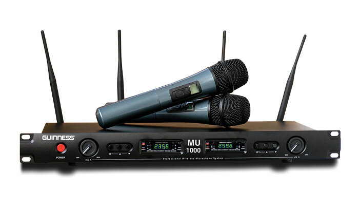 Micro karaoke không dây Guinness MU-880i.