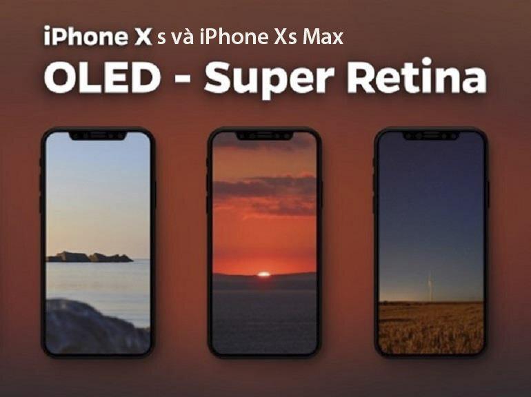 Đâu là sự khác biệt về công nghệ màn hình LCD và OLED trên bộ 3 điện thoại iPhone 2018