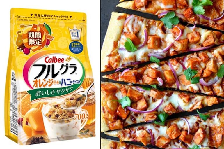 Làm Piza ngũ cốc Calbee