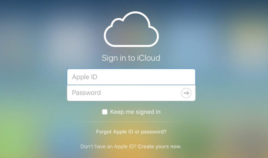 Tất cả các thiết bị của Apple đều yêu cầu đăng ký và đăng nhập iCloud trước khi dùng