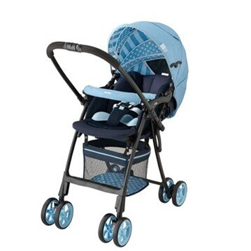 Xe đẩy trẻ em Aprica FLYLE dungaree BL