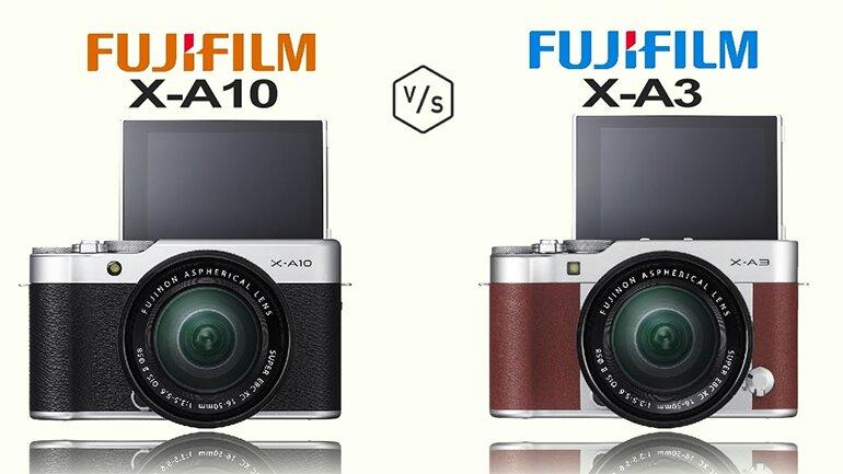 Nên mua Fujifilm XA3 hay XA10 (nguồn: zshop.vn)