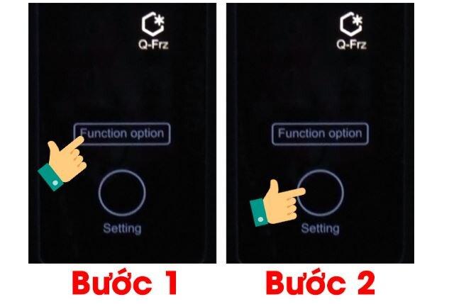 Cách sử dụng phím chức năng trên tủ lạnh Aqua