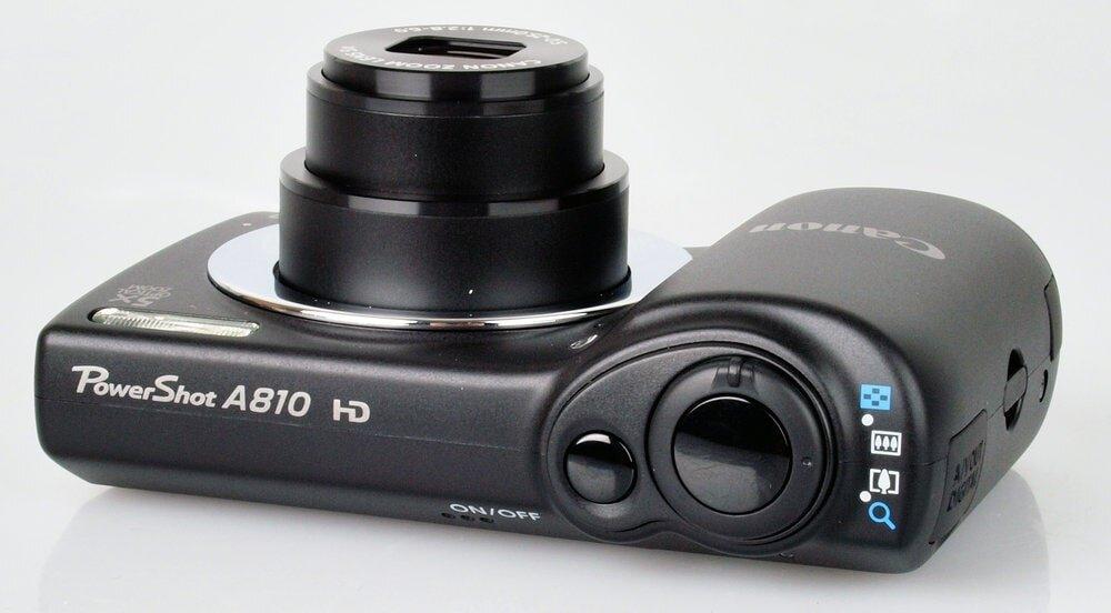 Canon PowerShot A810 thiết kế sang trọng