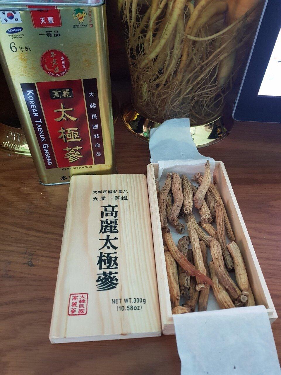 Thái cực sâm củ khô Hàn Quốc sử dụng được lâu, dễ bảo quản