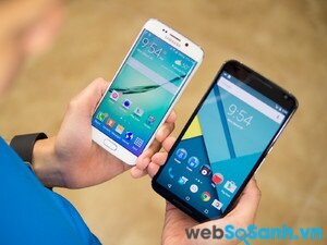 Samsung Galaxy S6 Edge và Google Nexus 6